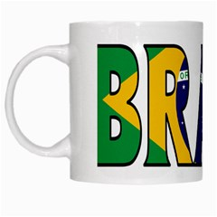 Brazil White Coffee Mug