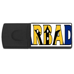 Barbados 4gb Usb Flash Drive (rectangle) by worldbanners