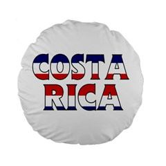 Costa Rica 15  Premium Round Cushion  by worldbanners