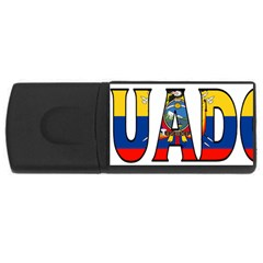 Ecuador 2GB USB Flash Drive (Rectangle)
