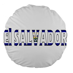 El Salvador 18  Premium Round Cushion  by worldbanners