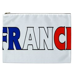 France Cosmetic Bag (XXL) by worldbanners