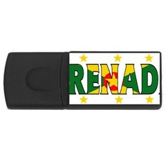 Grenada 2GB USB Flash Drive (Rectangle) by worldbanners