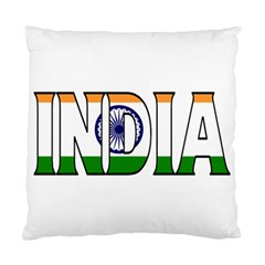 India Cushion Case (one Side) by worldbanners