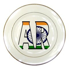 India2 Porcelain Display Plate
