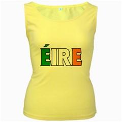 Ireland2 Womens  Tank Top (yellow)