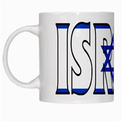 Israel2 White Coffee Mug by worldbanners