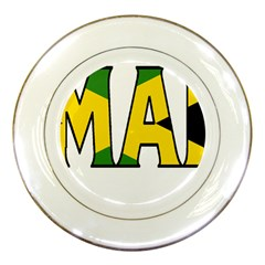 Jamaica Porcelain Display Plate by worldbanners