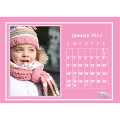 Pink Princess Desktop Calendar (8 5x6) By Deborah   Desktop Calendar 8 5  X 6    Yozpz7we989j   Www Artscow Com Jan 2017