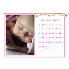 Pink Princess Desktop Calendar (8 5x6) By Deborah   Desktop Calendar 8 5  X 6    Yozpz7we989j   Www Artscow Com Oct 2017
