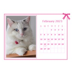 Pink Princess Desktop Calendar (8 5x6) By Deborah   Desktop Calendar 8 5  X 6    Yozpz7we989j   Www Artscow Com Feb 2017