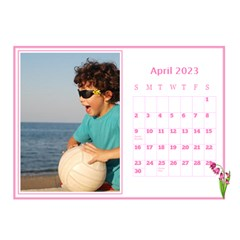 Pink Princess Desktop Calendar (8 5x6) By Deborah   Desktop Calendar 8 5  X 6    Yozpz7we989j   Www Artscow Com Apr 2017