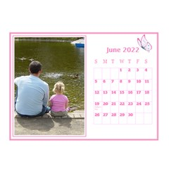Pink Princess Desktop Calendar (8 5x6) By Deborah   Desktop Calendar 8 5  X 6    Yozpz7we989j   Www Artscow Com Jun 2017