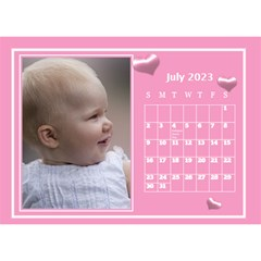 Pink Princess Desktop Calendar (8 5x6) By Deborah   Desktop Calendar 8 5  X 6    Yozpz7we989j   Www Artscow Com Jul 2017
