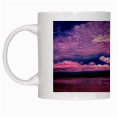 Amazing Skies White Coffee Mug by designsbyvee
