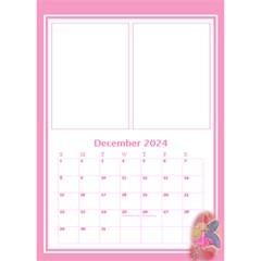 Pink Princess Desktop Calendar By Deborah   Desktop Calendar 6  X 8 5    6rpudw2xztnp   Www Artscow Com Dec 2019