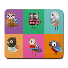 Hipster s Mousepad Large Mouse Pad (rectangle) by Contest1704350