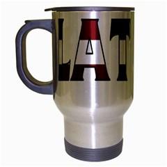 Latvia Travel Mug (silver Gray)