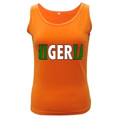 Nigeria Womens  Tank Top (dark Colored)
