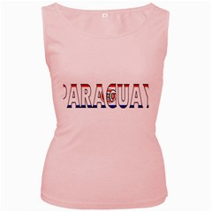 Paraguay Womens  Tank Top (pink) by worldbanners