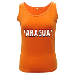 Paraguay Womens  Tank Top (dark Colored) by worldbanners