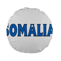 Somalia 15  Premium Round Cushion  by worldbanners