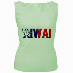 Taiwan Womens  Tank Top (green) by worldbanners