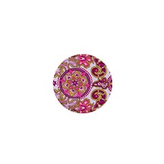 Floral Fantasy 1  Mini Button Magnet by Contest1702305
