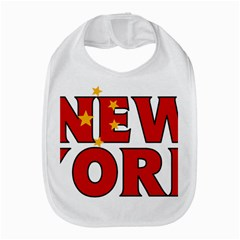 New York China Bib by worldbanners