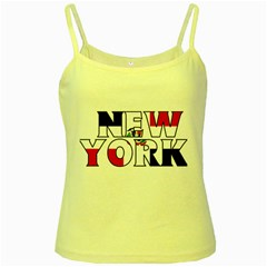 New York Dr Yellow Spaghetti Tank by worldbanners