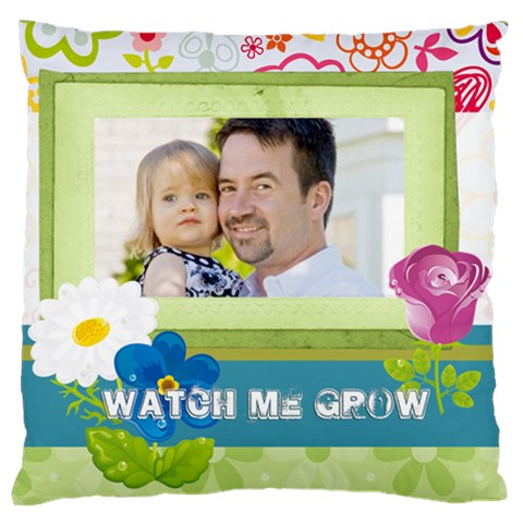 Kids, Father, Family, Fun By Jo Jo   Large Cushion Case (one Side)   O1rs5a62r5ye   Www Artscow Com Front