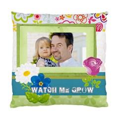 Kids, Father, Family, Fun By Jo Jo   Standard Cushion Case (two Sides)   Iwkxaiio0j3p   Www Artscow Com Front