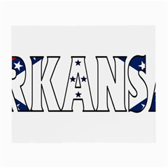 Arkansas Glasses Cloth (small) by worldbanners