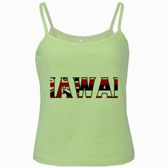 Hawaii Green Spaghetti Tank by worldbanners