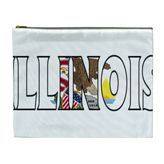 Illinois Cosmetic Bag (XL) by worldbanners