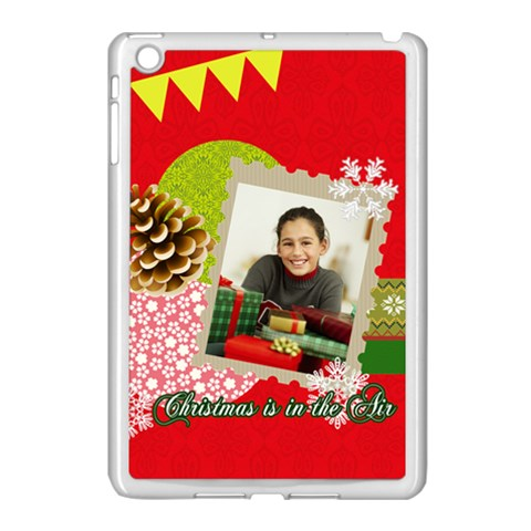 Christmas By Merry Christmas   Apple Ipad Mini Case (white)   G37ca4dnuepq   Www Artscow Com Front