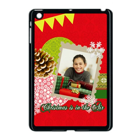 Christmas By Merry Christmas   Apple Ipad Mini Case (black)   Vkfpc2kbjm8i   Www Artscow Com Front