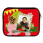 christmas - Apple iPad 2/3/4 Zipper Case