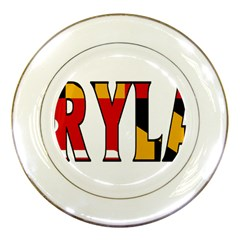 Maryland Porcelain Display Plate