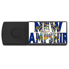 New Hampshire 2GB USB Flash Drive (Rectangle) by worldbanners