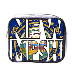 New Hampshire Mini Travel Toiletry Bag (one Side) by worldbanners