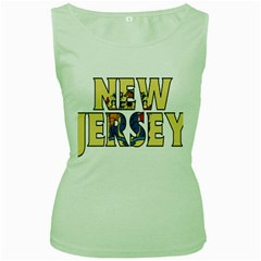 New Jersey Womens  Tank Top (green) by worldbanners