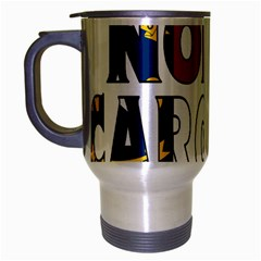 N Carolina Travel Mug (silver Gray)