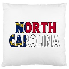 N Carolina Large Cushion Case (one Side) by worldbanners