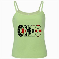 Ohio Green Spaghetti Tank by worldbanners