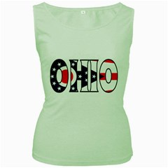 Ohio Womens  Tank Top (green) by worldbanners
