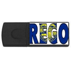 Oregon 4GB USB Flash Drive (Rectangle) by worldbanners