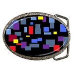 Contempt Belt Buckle (Oval)