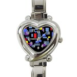 Contempt Heart Italian Charm Watch