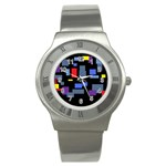 Contempt Stainless Steel Watch (Unisex)